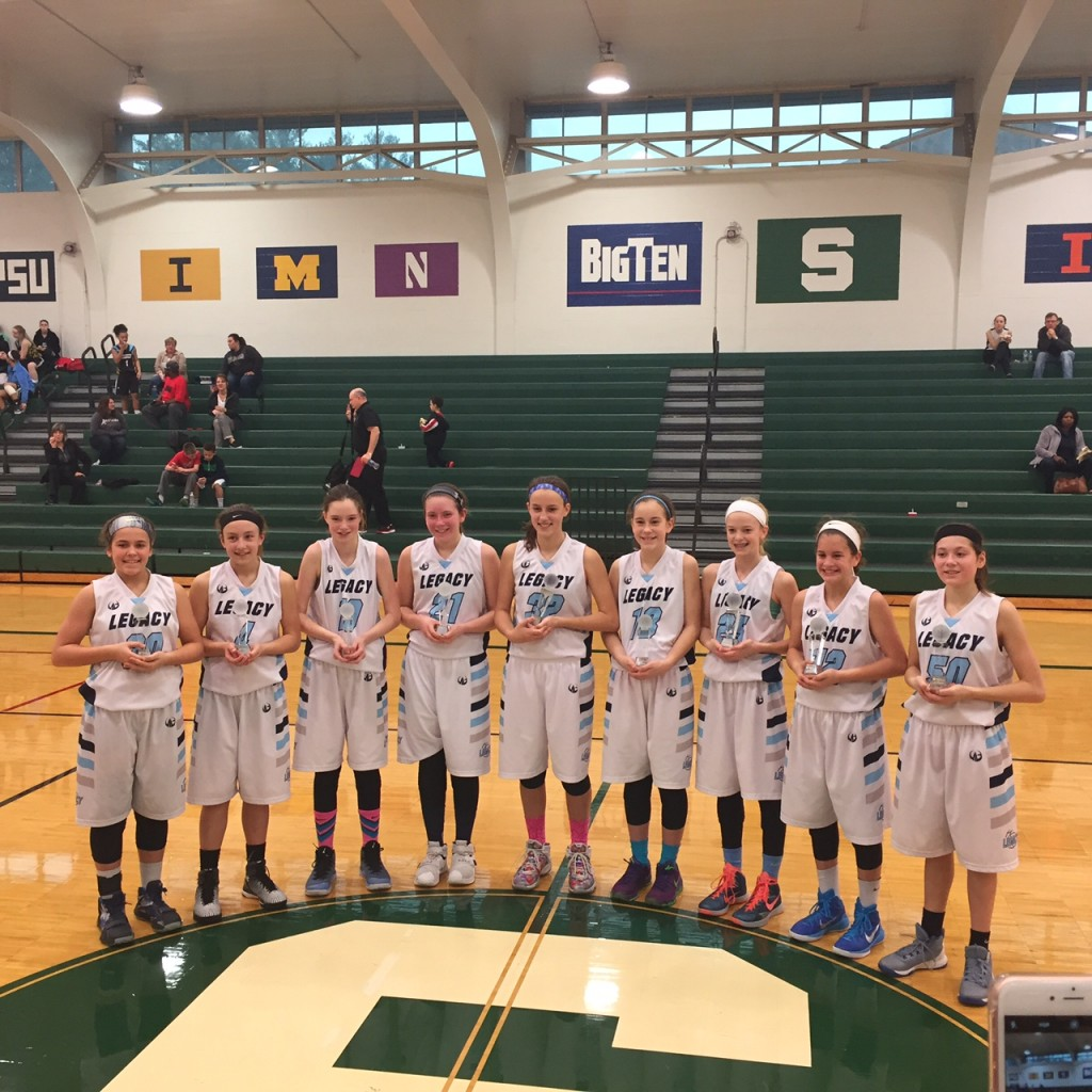Spartan Showcase 6th Grade Legacy Green Gold Champions!