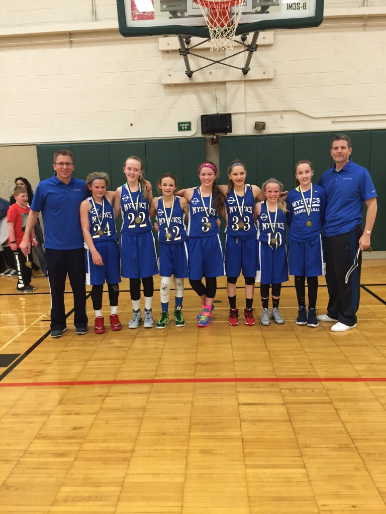 Spartan Showcase 6th Grade Mystics Green Silver Champions!