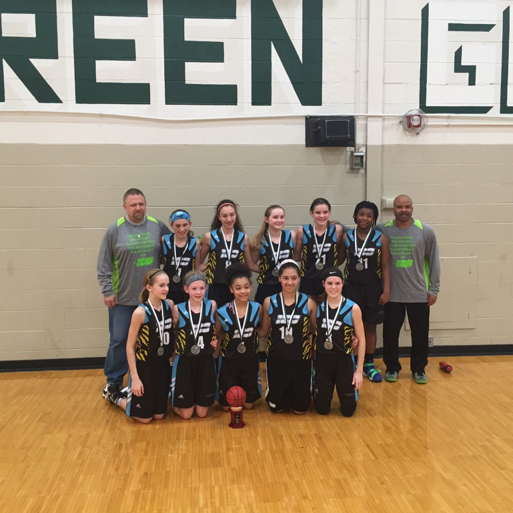 Spartan Showcase 7th Grade Always 100 Green Gold Runner-up!