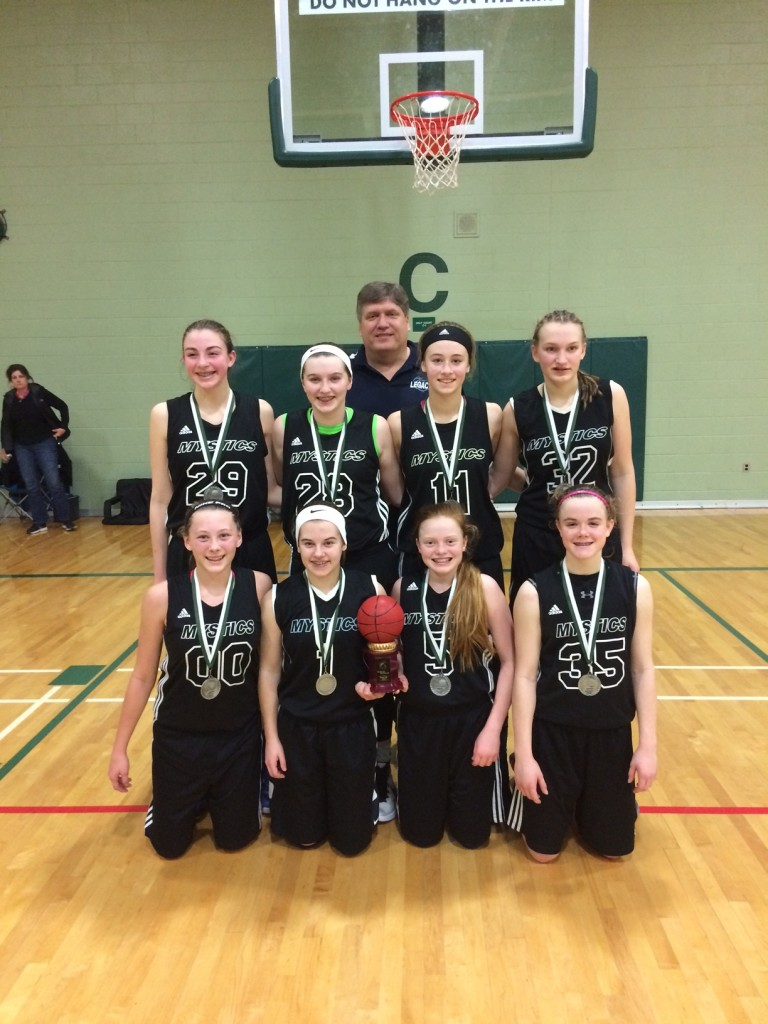 Spartan Showcase 8th Grade Mystics Green Gold Runner-up!
